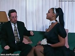 Big Boobs Interracial Pornstar Stockings