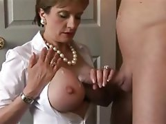 Facial Big Boobs MILF Pornstar