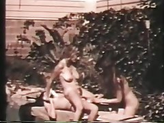Hairy Lesbian Threesome Vintage