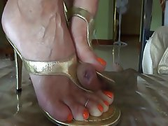 Amateur Cumshot Foot Fetish