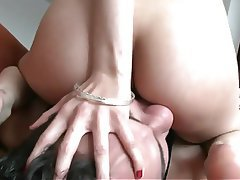 Ass Licking Brunette Skinny Face Sitting