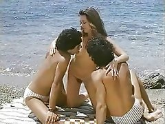 Vintage Group Sex Threesome Softcore