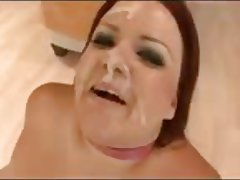 BBW Gangbang Interracial