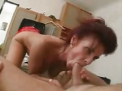 Cumshot Hairy Mature MILF Old and Young