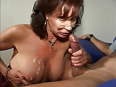 Blowjob Mature Brunette