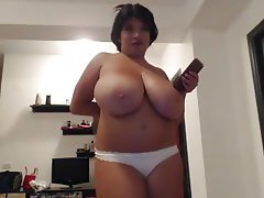 BBW Big Boobs Softcore Webcam
