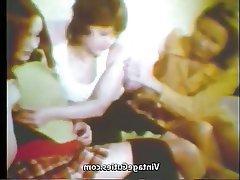 Vintage Teen Lesbian Threesome