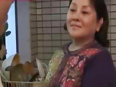 Blowjob Japanese MILF BBW