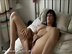 Big Tits Hairy Teen Masturbation