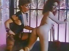 Vintage Lesbian Brunette MILF