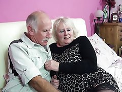 Blowjob British Granny Mature