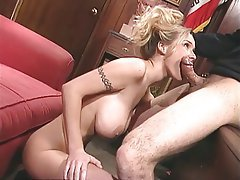 Anal Blowjob Big Boobs Blonde