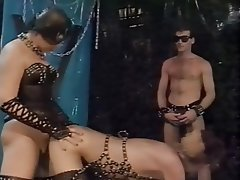 BDSM German Group Sex Stockings