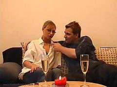 Amateur Blonde German Lingerie