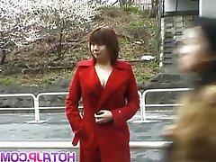 Asian Japanese MILF Outdoor
