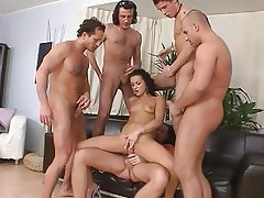 Anal Blowjob Double Penetration Group Sex