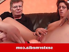 Old and Young Amateur Casting German