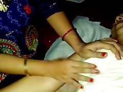 Indian Orgasm Threesome