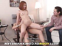 Blowjob Redhead Small Tits Teen