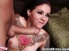 Anal Cumshot Double Penetration Emo Threesome