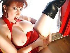 Blowjob Nylon Redhead Stockings
