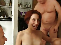 Anal Hairy Pornstar Group Sex