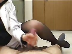 Asian Foot Fetish Handjob Japanese