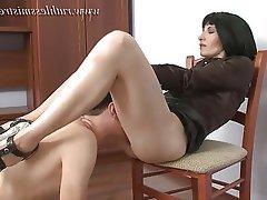BDSM Cunnilingus Face Sitting Femdom