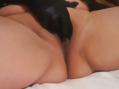 BBW Bisexual Masturbation Squirt