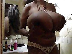 BBW Big Boobs Masturbation Nipples