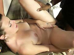 Big Tits Blowjob Creampie Ebony
