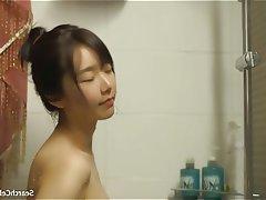 Asian Brunette Celebrity Shower