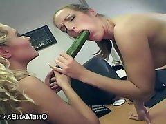 Amateur Anal Lesbian Spanking