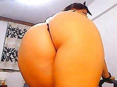 Amateur Big Butts Brunette Close Up POV