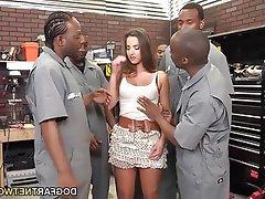 Bukkake Cumshot Gangbang Interracial