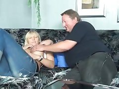 Amateur Blonde Blowjob German