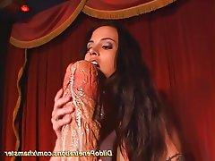 Anal Masturbation Orgasm Small Tits