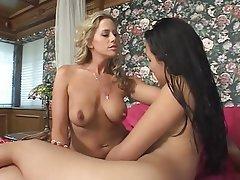 Lesbian Blonde Brunette Asian