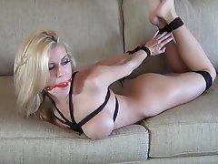 Anal BDSM Blonde Bondage