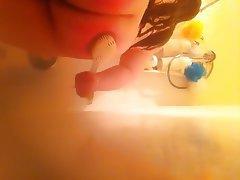 Amateur Big Butts Shower Spanking