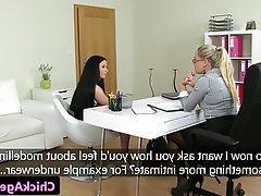 Lesbian Stockings