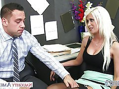 Blonde Blowjob Hardcore Lingerie Pornstar