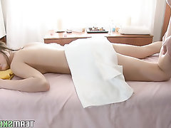 Amateur Babe Big Cock Blowjob Cumshot