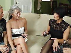 Amateur Group Sex Hardcore MILF Pornstar
