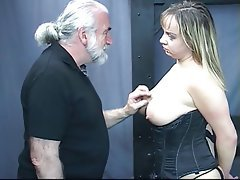 BDSM Blowjob Nylon MILF