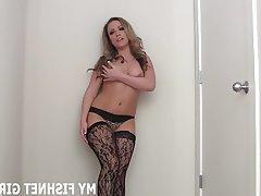 BDSM Femdom POV Stockings