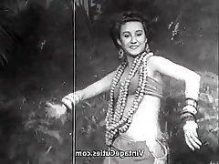 Arab Babe Brunette Vintage