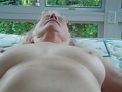 Amateur BBW Blonde Granny