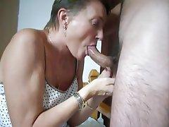 Amateur Granny Blowjob Mature