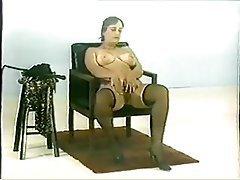 BDSM Femdom Hairy Stockings